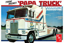 AMT Tyrone Malone Kenworth Transporter Papa Truck model kit 1/25