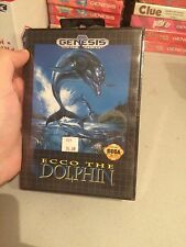 Brand New Factory Sealed Sega Genesis Game Ecco The Dolphin
