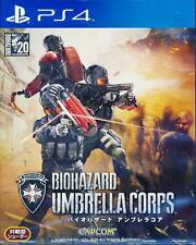 Biohazard Resident Evil Umbrella Corps PS4 Game BRAND NEW SEALED