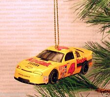 KODAK GOLD FILM CHEVY MONTE CARLO Race Car CHRISTMAS ORNAMENT yellow rare XMAS