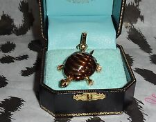 New Juicy Couture Released in 2006 Turtle Charm For Bracelet Necklace Handbag