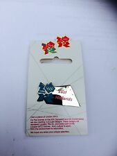 London 2012 Olympic Pin Badge - East Midlands - New