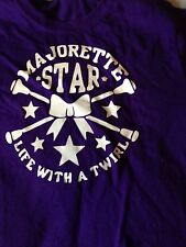 Majorette Life With a Twirl Youth Tshirt Size Small