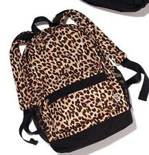 VICTORIAS SECRET PINK ANIMAL CHEETAH LEOPARD CAMPUS BACKPACK BOOKBAG *SOLD OUT*