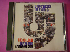 "CD: COOLBONE Brass Band of New Orleans ""Brothers in Swing 1"" 2003 JenJaz Hip Hop"