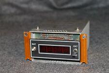 Vintage Rockwell International 212-R Timer 622-4560-001 Red Number Display lab