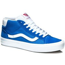 Vans MID SKOOL PRO 50TH '79 BLUE/WHITE Men's Classic Skate Shoes Size 7 NEW