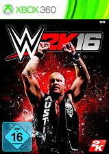 WWE 2K16 - Xbox 360 - deutsch - Neu / OVP