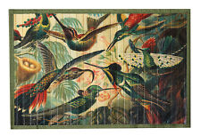 Kitchen Rugs Mats Floor Mats Bath Rugs Bamboo Roll 3 x 5 Tropical Birds