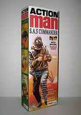 ACTION MAN, CUSTOM S.A.S COMMANDER,  BOX ONLY (NO FIGURE INCLUDED)..