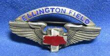 WWII Sterling Army Air Forces Ellington Field Medical Corps Wings Badge