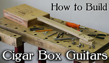 Cigar Box Guitar - How To Build DVD for your own neck / kit parts & homemade amp