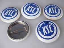 5 x KSC Karlsruhe Blech Buttons aus 1980