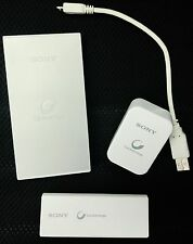 Sony CP-F2L Cycle Energy USB Portable Power Supply + CP-V3 Charge Bank + More!