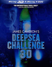 Deepsea Challenge (Blu-ray/DVD, 2014, 2-Disc Set) INCLUDES SLIPCASE!!  NEW!!