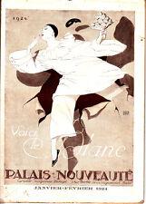 """PALAIS DE LA NOUVEAUTE """"VOICI LE BLANC"""" CATALOGUE JANVIER FEVRIER 1924"""