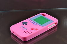Pink iPhone 4 4S Game Boy  Cover Case Skin