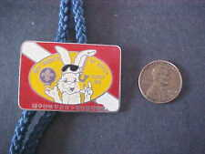 Boy Scouts Korea Troop 502 Woggle Badge Slide with cord