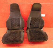 92-96 Honda Prelude OEM front seats assembly STOCK factory black x2