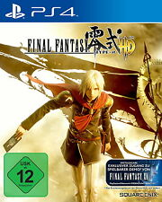 Final Fantasy Type-0 HD (Sony PlayStation 4, 2016)