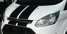 FORD TRANSIT CUSTOM Bonnet Stripe gloss vinyl Effect || Decal Sticker || Pre Cut