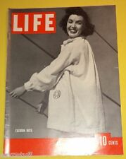Life Magazine 1938 Latest Fashion Note cover Great Old Coca-Cola Ad Nice See!