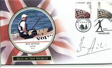 Buckingham Cover BEST IN THE WORLD 2008 Sailing SIGNED CERTIFIED Ben Ainslie