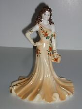 Coalport Hand Decorated Bone China Ladies of Fashion Figurine - Julianna (1998)