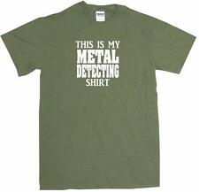 This is My Metal Detecting Shirt Mens Tee Shirt Pick Size Color Small-6XL