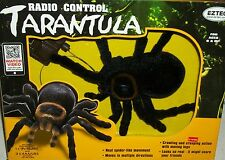 Radio remote Control Tarantula Party gag halloween scary Xmas hairy spider joke