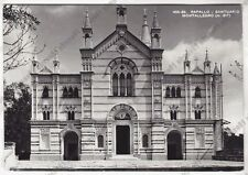 GENOVA RAPALLO 166 SANTUARIO MONTALLEGRO Cartolina FOTOGRAFICA VIAGGIATA 1955