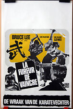 Arts Martiaux : Bruce Lee : Fists Of Fury : POSTER