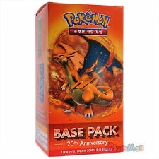 Pokemon Card Game TCG XY Evolutions Charizard Pack Korean 1 Booster Box Display