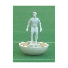 SET DI 11 Miniature AL1 subbuteo omini bianchi 11 table soccer figures