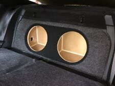 "ZEnclosures 2015+ Mustang 2-12"" FRONT FIRE Subwoofer Box Sub Speaker Box (V3,FF)"