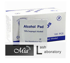 Alcohol Wipe Pad Medical Swab in Sachet Antibacterial Tool Cleanser 100pcs