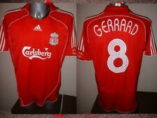 Liverpool Boys Small 10y Adidas GERRARD Shirt Jersey Soccer Football England