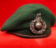 ELITE U.K. BRITISH ROYAL MARINES COMMANDO BERET * SIZE 59CM  * SHAPED *