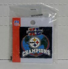 Official NFL Pittsburgh Steelers, Super Bowl XL Champions Pin, BRAND NEW SEALED