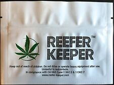 """6 Pack New 5 1/2"""" x 4"""" Smell Proof Bags/Stink Proof Container Weed Bag"""