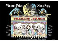 Theatre of Blood (2) - Vincent Price - A4 Laminated Mini Poster