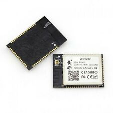 Wireless 802.11b/g/n Serial RS232 UART to WiFi Low Power Converter Module GPIO
