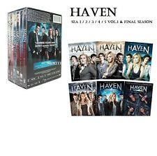 HAVEN:Complete TV Series Season 1 2 3 4 5 & Final Season. Box Set DVD (NEW) !