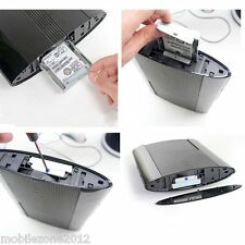 6.3cm HDD Hard Disk Drive Supporto Staffa Sede Sony PS3 Super Sottile 12GB UZ2