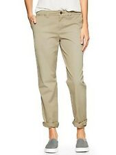 Gap Women's Oak Tree Broken-in Straight Khakis Size 2 Regular