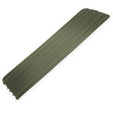 NEW Adult Single Blow Up Inflatable Military Army Camp Bed Mattress Mat Green
