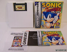 Sonic the Hedgehog: Genesis (Game Boy Advance) COMPLETE IN BOX!!!