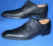 MINTY 8 TERRIFIC BLACK CALVIN KLEIN SCOTCH LEATHER MENS OXFORD ELTON