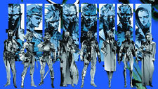 "metal gear solid 4 Game Fabric Poster 21"" x 13"" Decor 13"