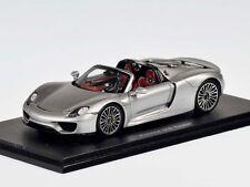 Spark Porsche 918 Spyder 2015 Silver 1:43 (S4244)